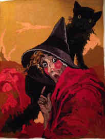 Scaredy Witch