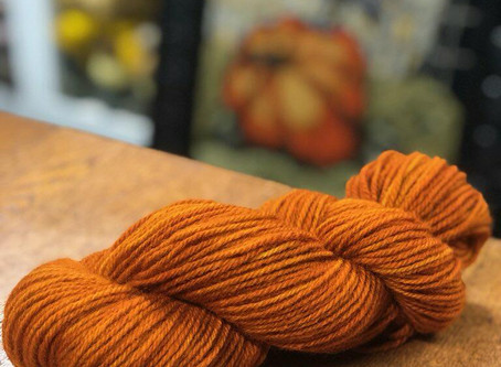 New Fall Colored Yarn Available!