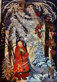 Lady and Santa