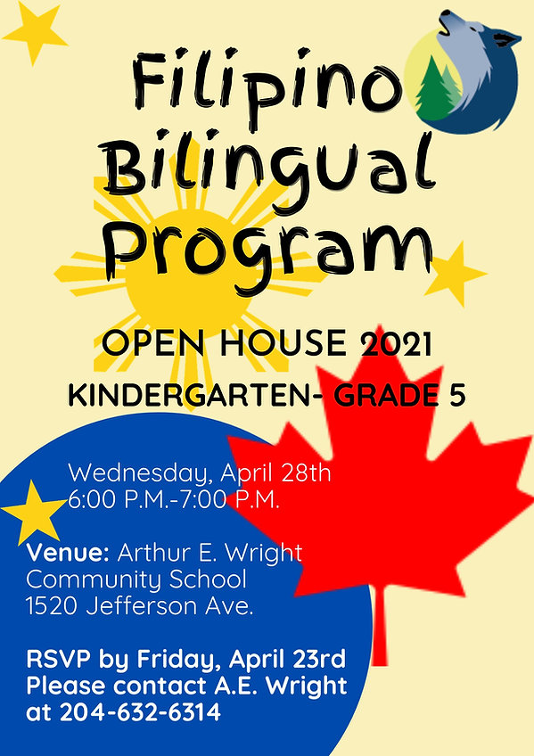 Filipino Bilingual Program Open House Po