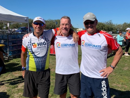 HIG at the Australian Corporate Triathlon Series