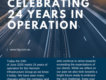 HIG Celebrates 24 Years in Operation