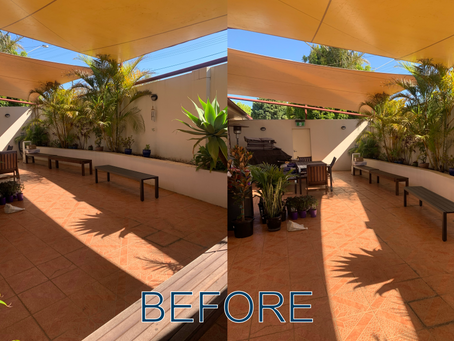 Toowoomba Courtyard Makeover