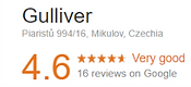 Googe review Apartmany Gulliver Miklov