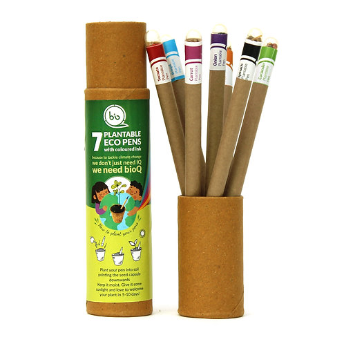 PLANTABLE PEN GIFT BOX COLOURING (PACK OF 7 PEN)