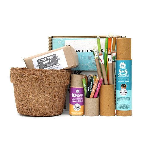 GIY Kit With Plantable Stationery