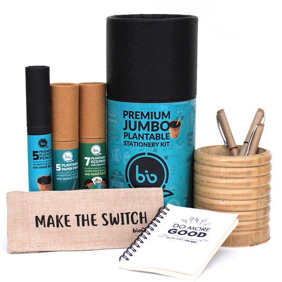 Jumbo plantable stationery box
