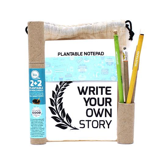 Plantable stationery bag