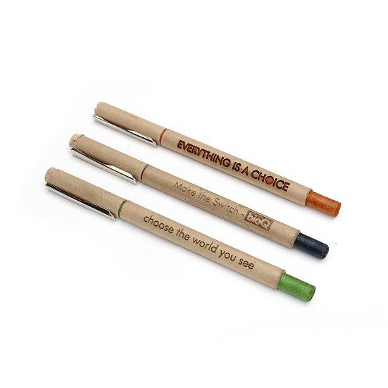 Ozone : premium paper pens (3pc)