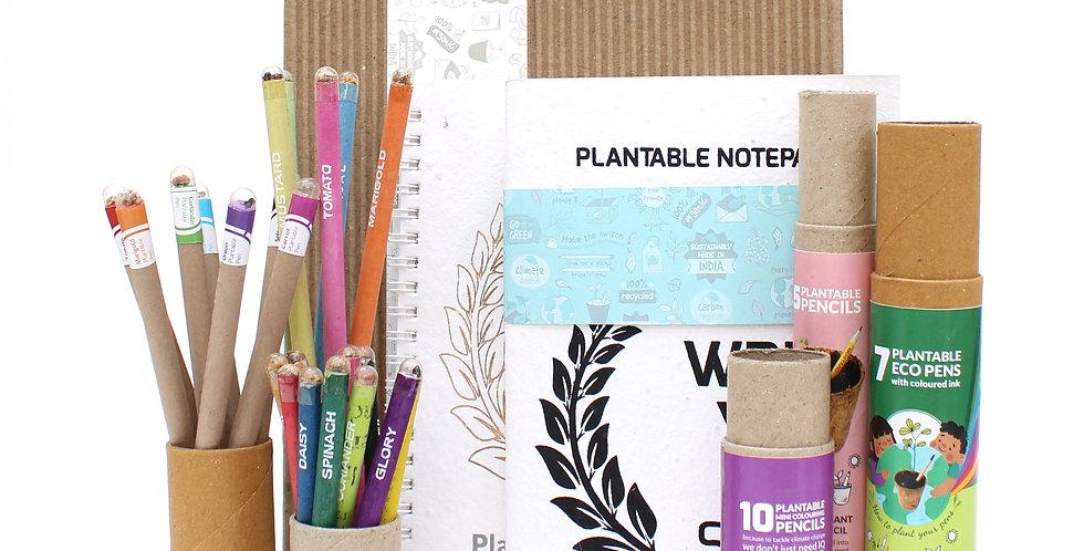 Planting stationery gift box