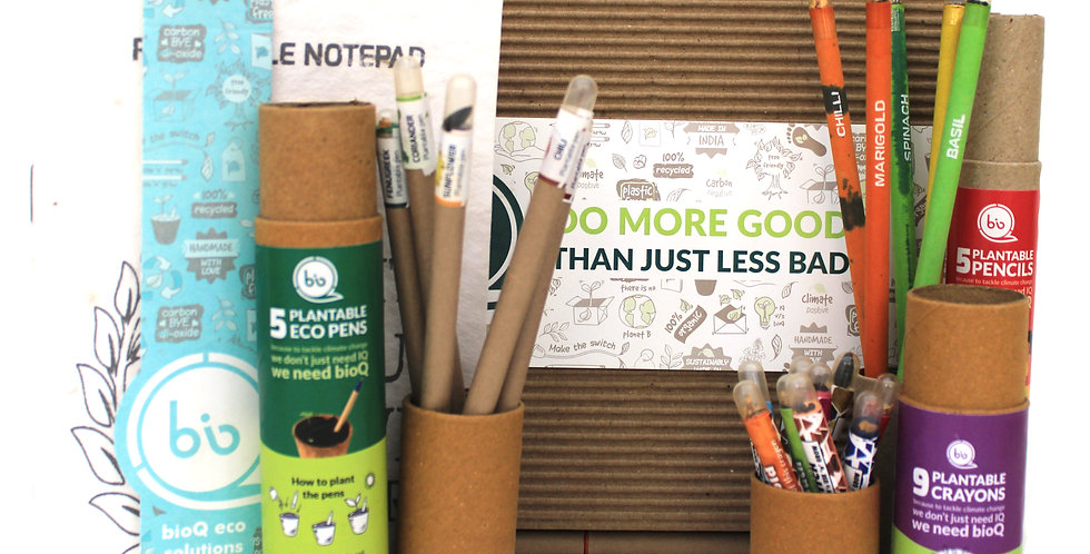 Plantable stationery gift box