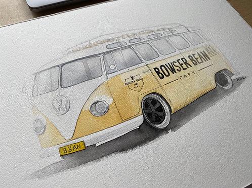 VW Kombi Bowser Bean for Jane