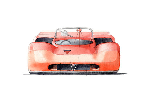Alfa Romeo T33/3 Targa Florio