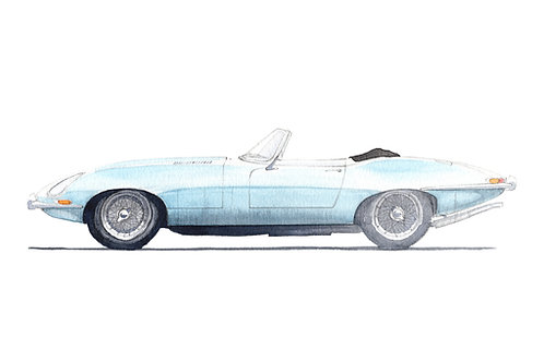 Jaguar E-Type S1 Roadster