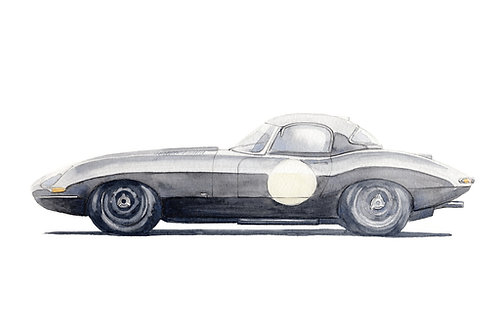Jaguar E-Type S1 Lightweight