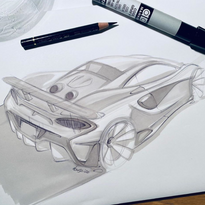 600LT Marker Sketch