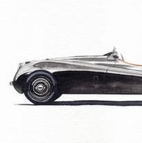 Jaguar E-Type David Gandy