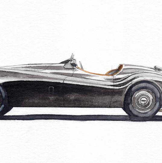Jaguar XK120 for David Gandy