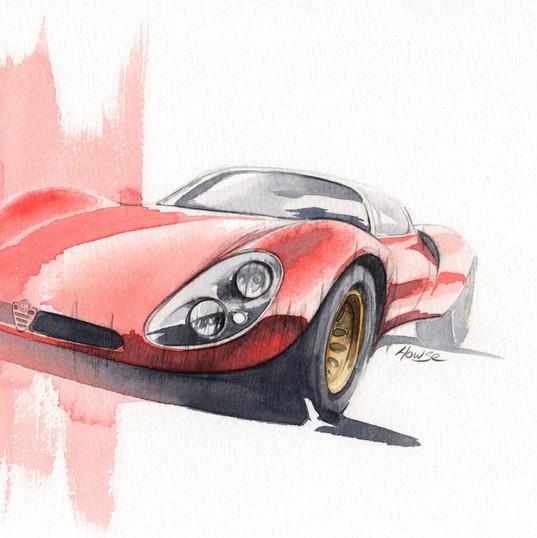 Alfa T33 Stradale