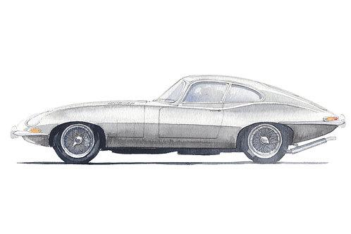 Jaguar E-Type S1 FHC