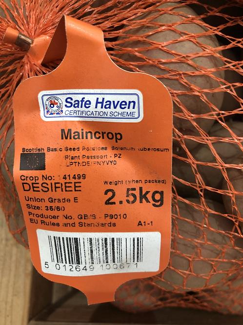 Desiree Seed Potato 2.5kg