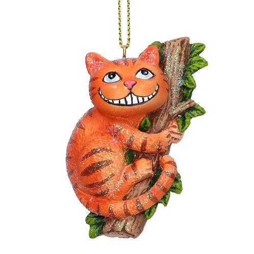 Gisela Graham Cheshire Cat Decoration
