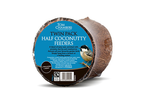 Twin Pack Half Coconutty Feeders