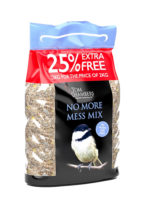 No More Mess Mix Bird Seed 2.5kg