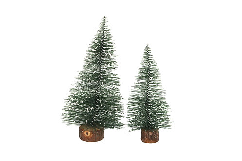 Frosted Mini Pine Tree Pack