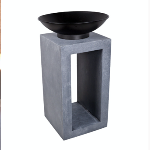 Firebowl and Square Console