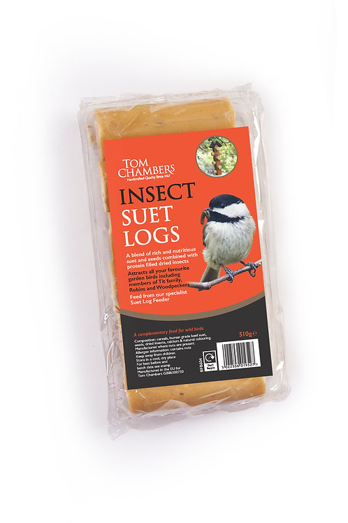 Insect Suet Logs