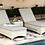 Thumbnail: Lifestyle Garden Aruba Sun Lounger Set with Coffee Table