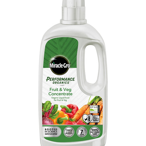 Miracle-Gro Performance Organics Fruit and Veg Liquid Concentrate Food
