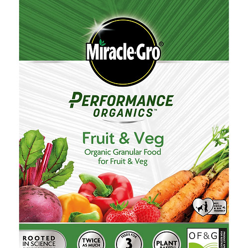 Miracle-Gro Performance Organics Fruit and Veg Granular Food