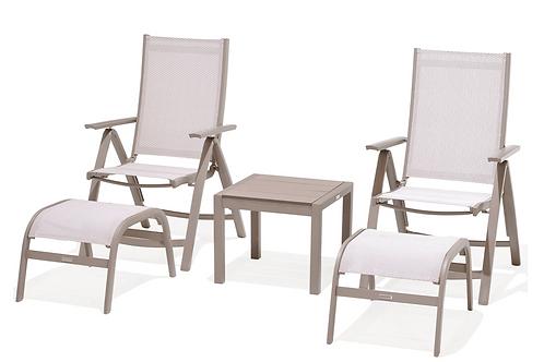 Lifestyle Garden Morella Multi-Positional Chair Companion Set