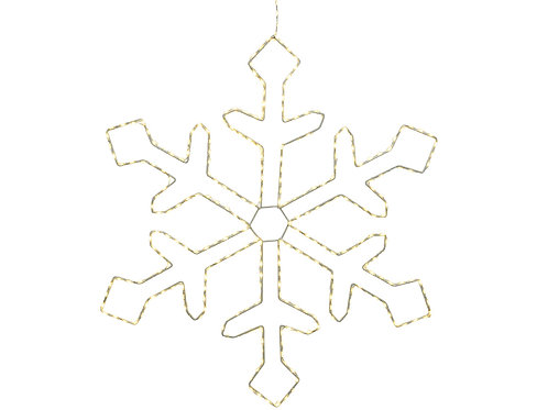 Micro LED dense snowflake