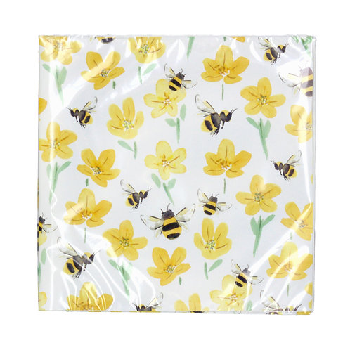 Buttercup/Bee Paper Napkin