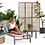 Thumbnail: Lifestyle Garden Morella Stacking Sun Lounger with Side Table