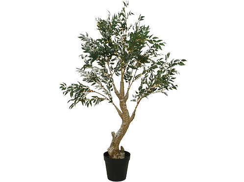 Olive Tree with Pot with micro LED