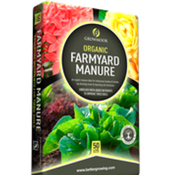 Multi Deal Growmoor Farmyard Manure 50L