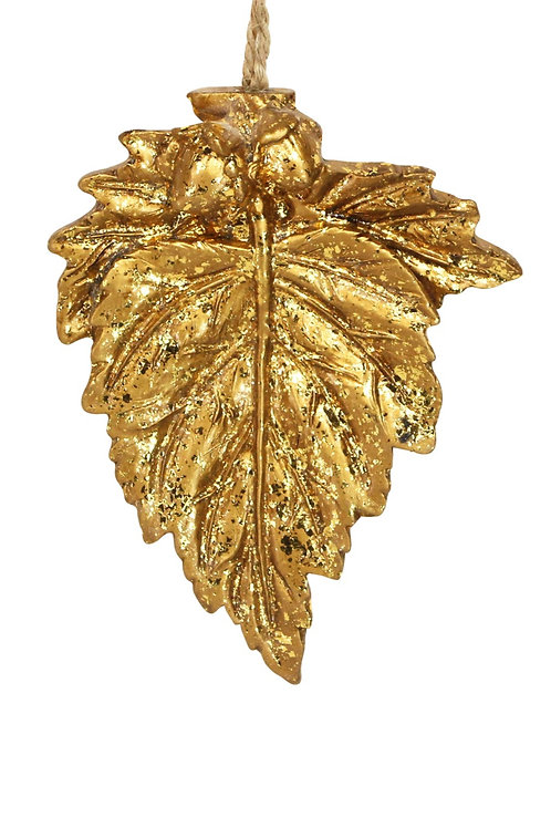 copy of copy of Gold Resin Leaf Decoration