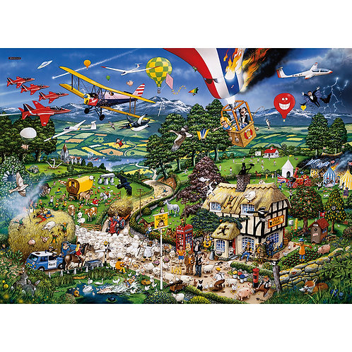 I Love the Country Jigsaw