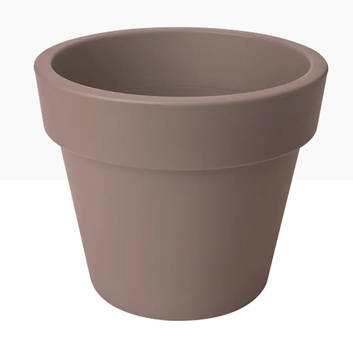 Top Planter Taupe 30cm