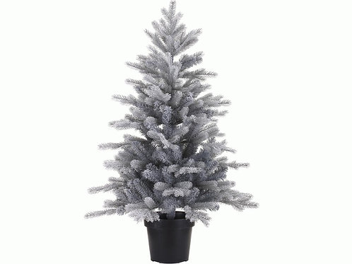 Frosted Grandis Mini Tree- 60cm