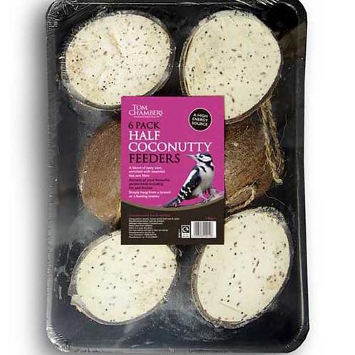 Tom Chambers 6 Pack Half Coconutty Feeders