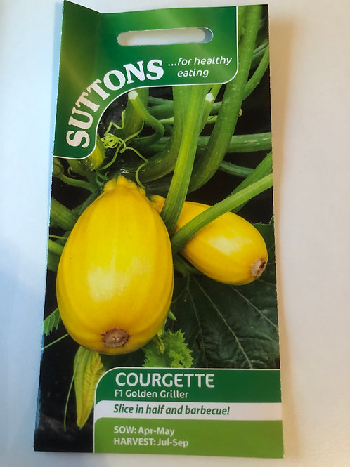 Courgette F1 'Golden Griller'