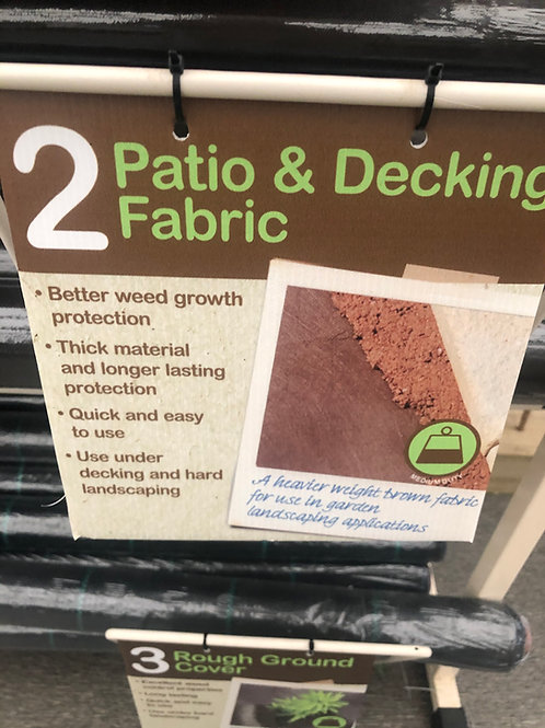 Patio and Decking Fabric