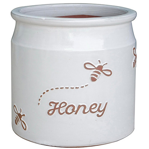 Honey Jar White