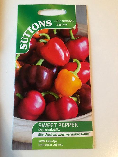 Sweet Pepper 'Sweetonia Mix'