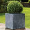 Thumbnail: Slate Grey Cube 26cm